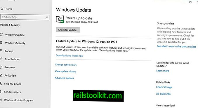 Windows 10 Mai 2019 Update angekündigt, und wesentliche Update-Änderungen
