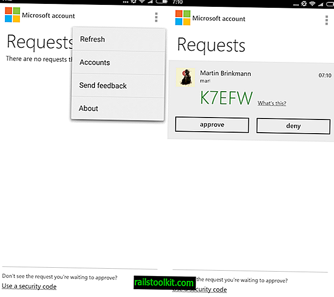 Microsoftov račun za Android