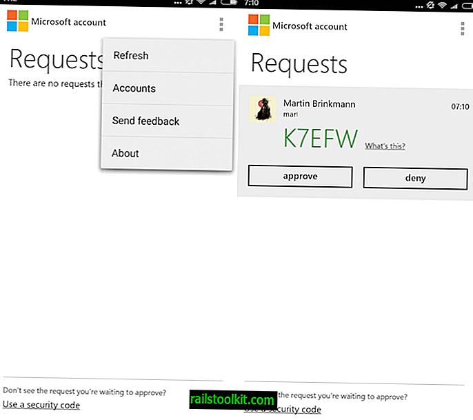 Account Microsoft per Android