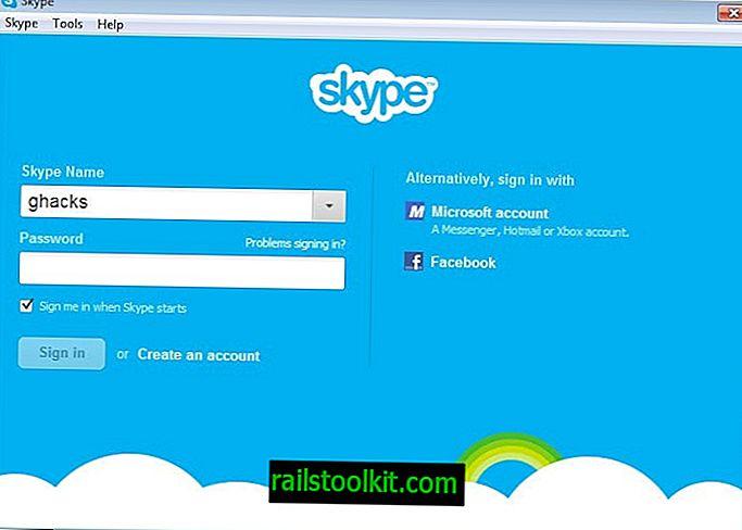 Skype: žádné další přihlášení na Facebooku