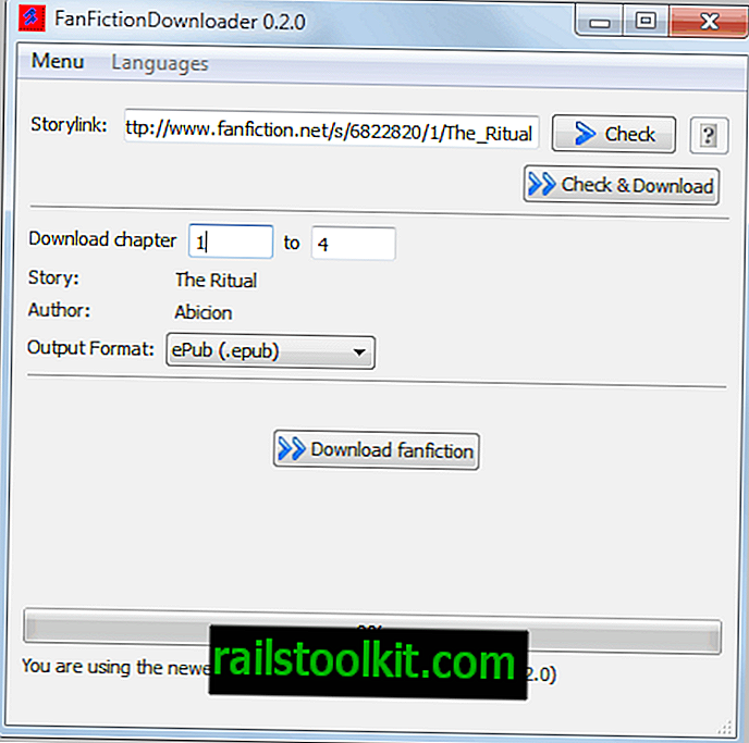 FanFiction Downloader, Descargar Fan Fiction Stories