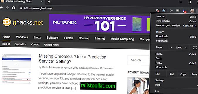 Chrome 74 Stableは、ダークモードと遅延読み込みをサポートしています