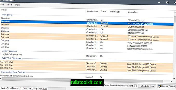 GhostBuster: ta bort spökade enheter på Windows