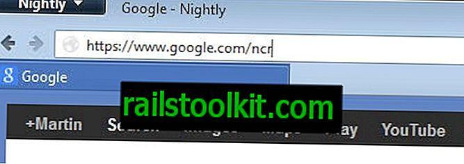 Γιατί ο Google.com ανακατευθύνει σε έναν άλλο τομέα Google;