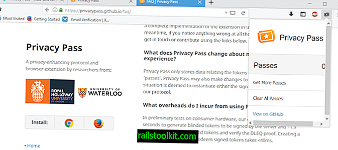 Menos captchas de CloudFlare con Privacy Pass