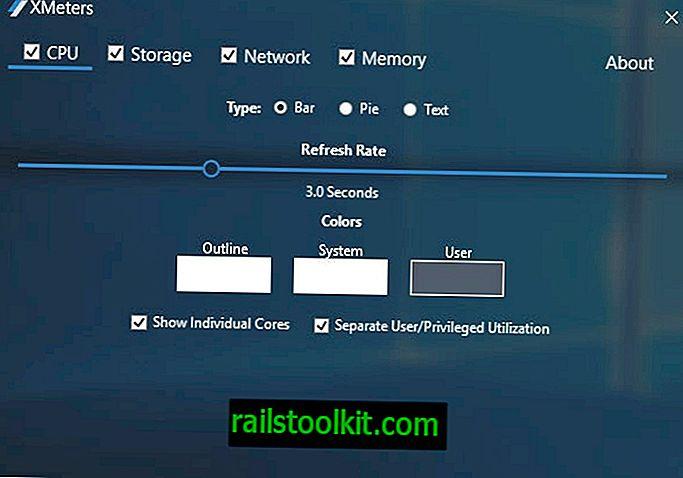 XMeters: използване на ресурси на лентата на задачите на Windows