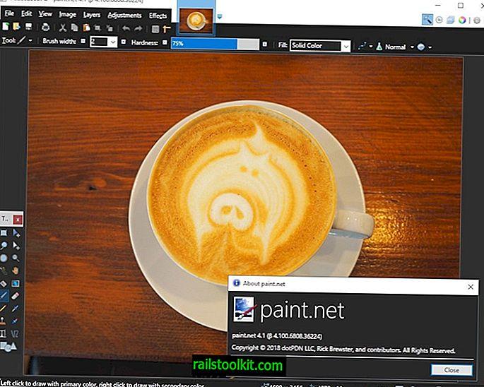 Paint.net 4.1アップデートは多くの改善をもたらします