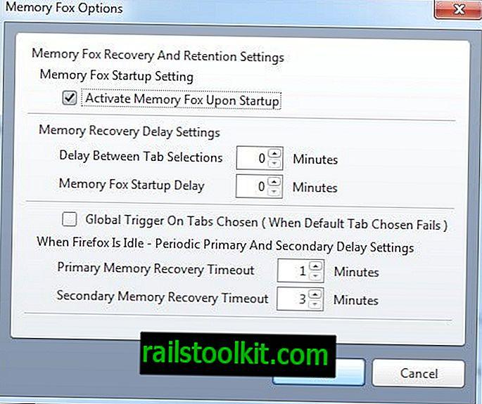 Memory Fox ล้างหน่วยความจำ Firefox อย่างต่อเนื่อง