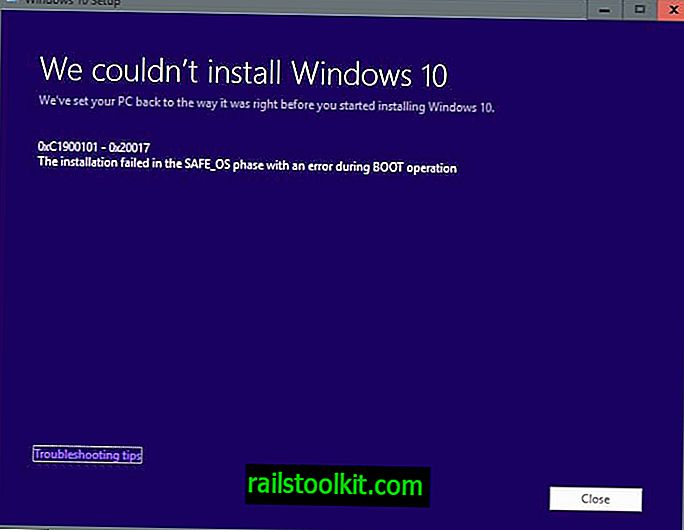 """Javítás """"A telepítés sikertelen volt a SAFE_OS fázisban hibával a BOOT művelet során"""