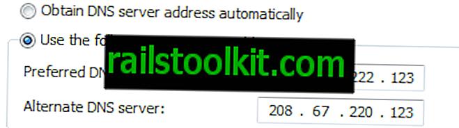 Az OpenDNS FamilyShield automatikusan blokkolja a 18 vagy több tartalmat