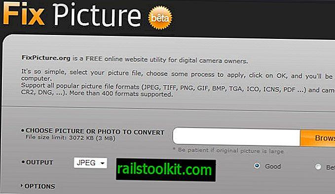 Fixpicture Redimensionner et convertir des images en ligne