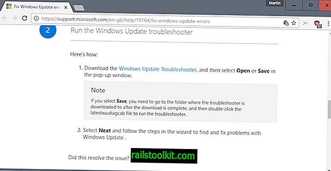 """Ištaisykite """"Windows Update"""" klaidas naudodami naują """"Windows 10"""" taisymo įrankį"""