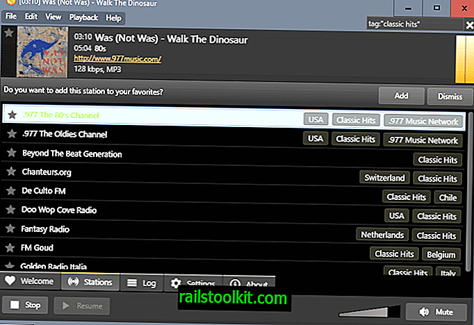 Screamer Radio 1.0 Internet Radio player