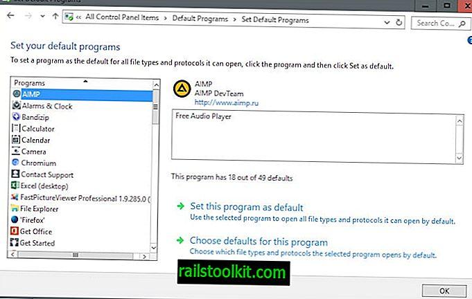 Assurez-vous de vérifier les applications et les paramètres par défaut après la dernière mise à jour de Windows 10.