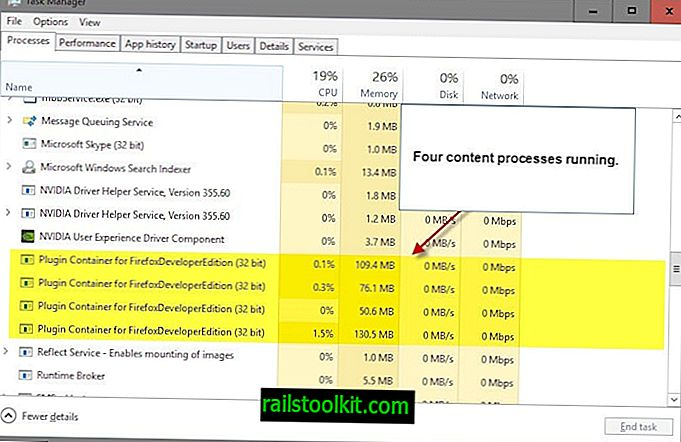 غيّر عدد العمليات التي يستخدمها Firefox متعدد العمليات