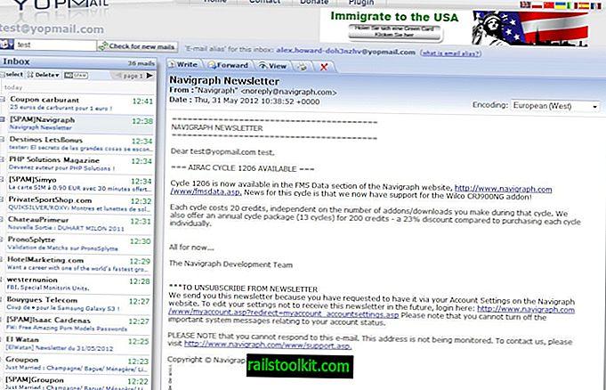 รายชื่อผู้ให้บริการอีเมลสำรองขั้นสุดท้าย (อัปเดตในปี 2560)