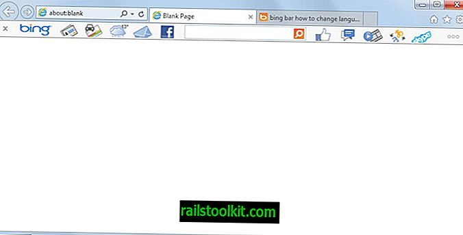 Cómo desinstalar la barra de Bing