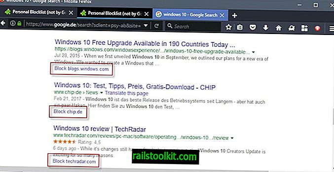 Firefox 용 개인 차단 목록을 사용하여 Google 검색에서 사이트 차단