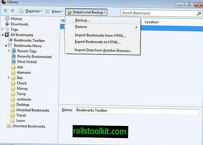 A Firefox könyvjelzőinek biztonsági mentése és áthelyezése egy másik számítógépre