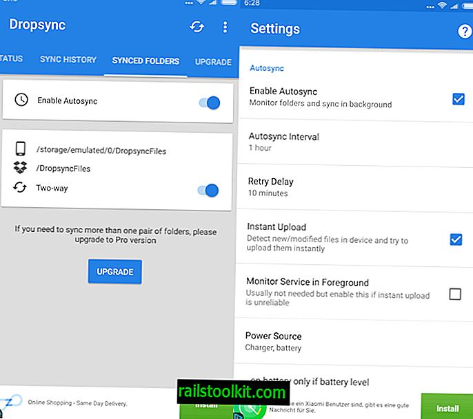 """Sinchronizuokite """"Dropbox"""" automatiškai """"Android"""""""