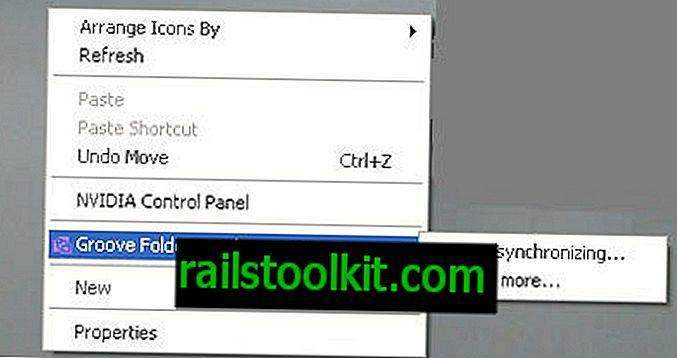Microsoft Groove Folder Synchronizationを削除します