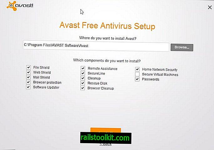 La configuration Avast montre pourquoi vous devriez toujours personnaliser les installations