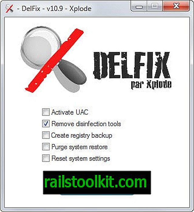 DelFix löscht tragbare Desinfektionswerkzeuge automatisch von Ihrem System
