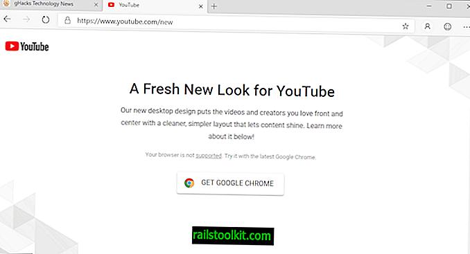Google está bloqueando el acceso de Microsoft Edge al nuevo diseño