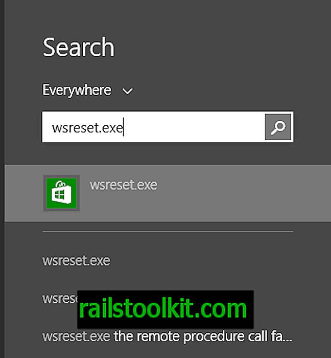 Windows 스토어 캐시를 재설정하는 방법