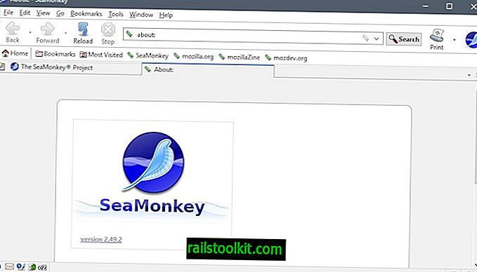 SeaMonkey 2.49.2 on poissa