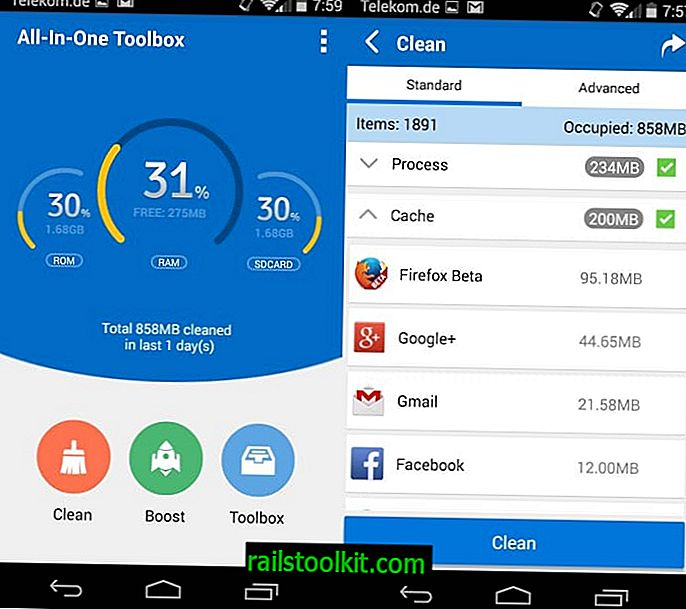 All-In-One Toolbox est un puissant nettoyeur et collection d'outils Android.