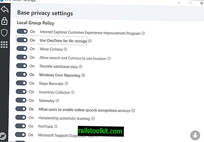 Windows 용 WPD 개인 정보 보호 앱이 업데이트되었습니다.
