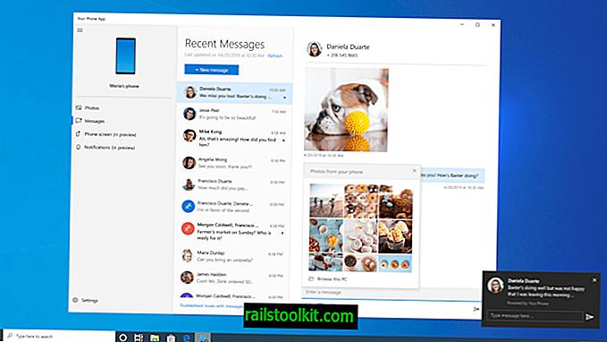 Windows 10 20H1 Previzualizare: Aplicația dvs. de telefon primește un impuls masiv