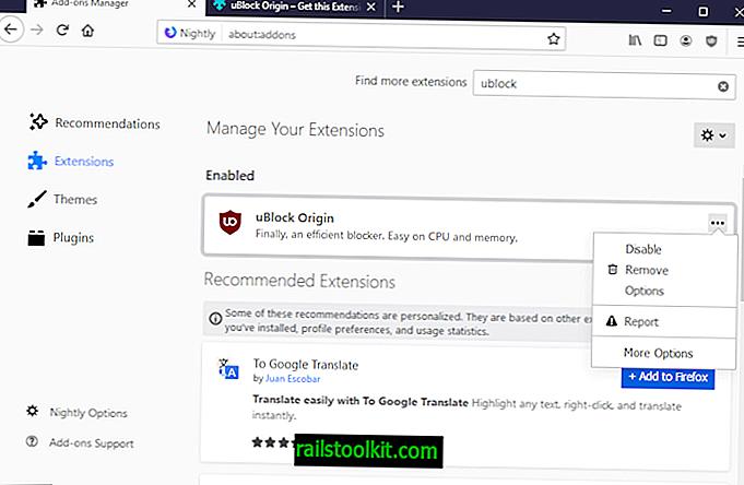 Ο Firefox 68 διαθέτει ένα νέο Διαχειριστή πρόσθετων