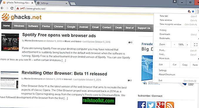 Ungoogled-Chromium fjerner Google-spor fra Chromium