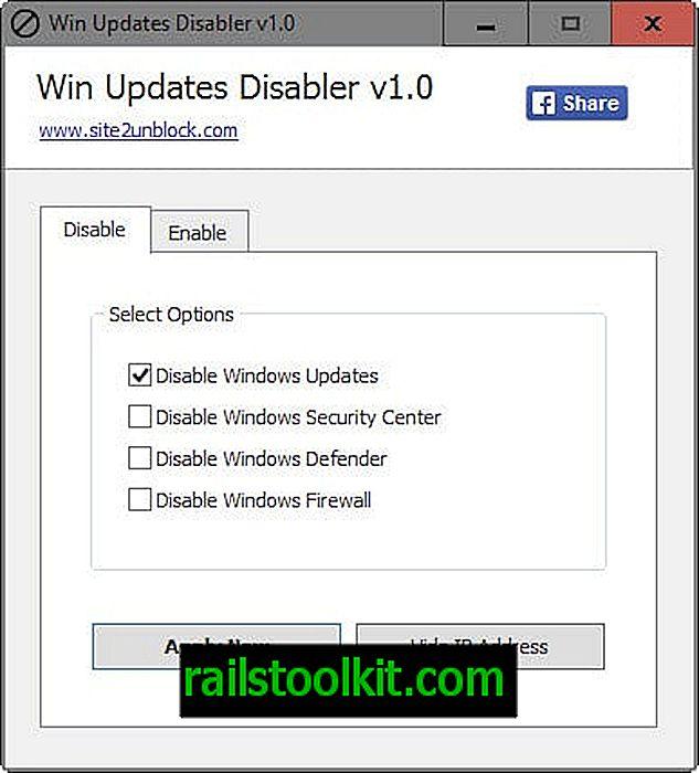 Dua alat Windows 10 untuk menyekat kemas kini automatik