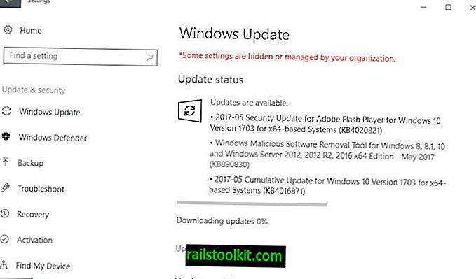 Veröffentlichung der Microsoft-Sicherheitsupdates vom Mai 2017