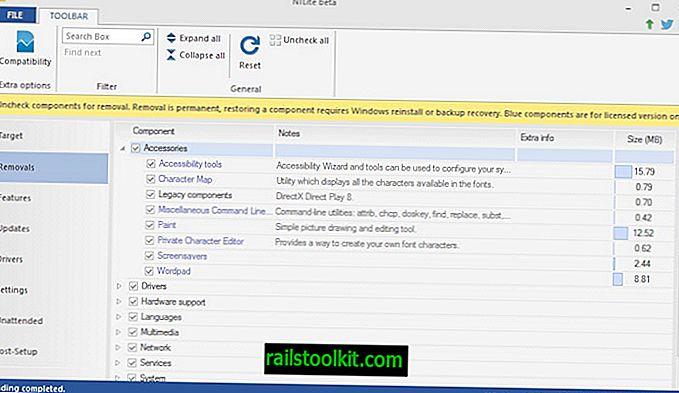 Personalice los componentes de Windows con NTLite