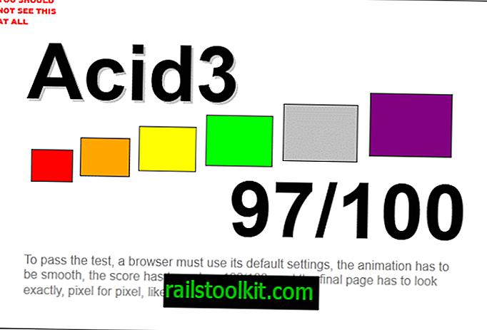 Miks Firefox ei kogu Acid3 testis 100 punkti