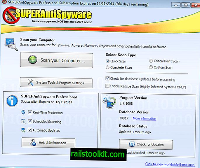 """""""SUPERAntiSpyware Professional"""" apžvalga"""