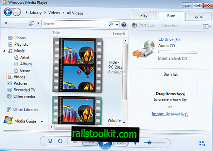 Stažení programu Windows Media Player 11
