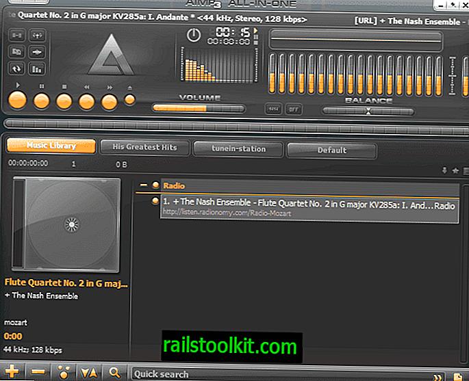 Lanzamiento del reproductor de música AIMP 4.5
