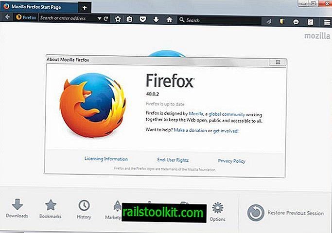 Мозилла објављује ажурирање Фирефок 40.0.2 да би решио проблеме у прегледачу