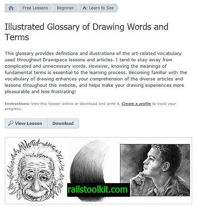 Desenho de lições no Drawspace