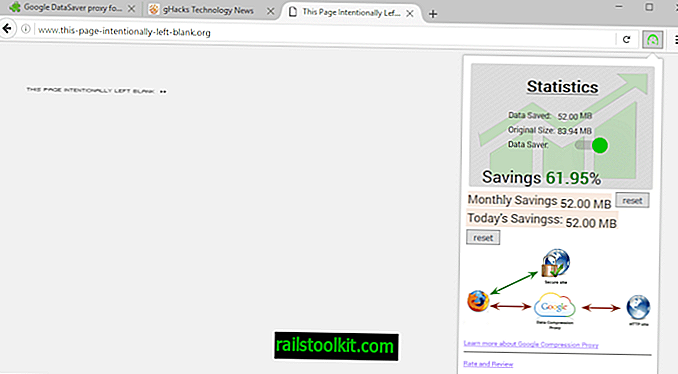 Google Data Saver para Firefox