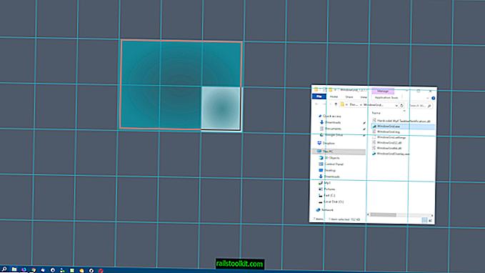WindowGrid: îmbunătăți mișcarea, redimensionarea și alinierea ferestrei