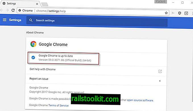 A Chrome 59 biztonsági javításokat, Anyagtervezési beállításokat hoz
