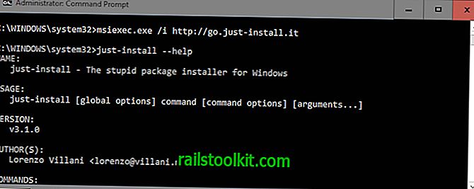 Just-Install: Batch-Installation von Programmen unter Windows