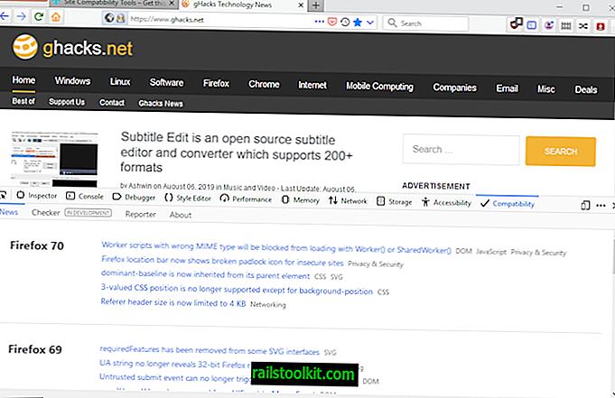 Mozilla пуска инструменти за съвместимост на сайтове за Firefox