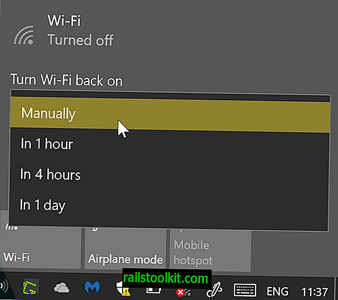 Slå Wi-Fi på automatisk på Windows 10